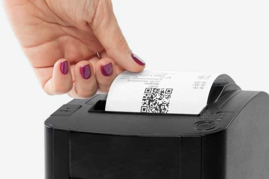 Возможность получить бумажный чек