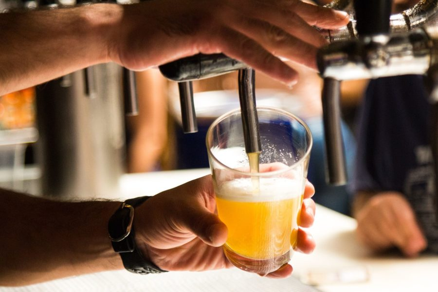 Алкогольная продукция в виде пива