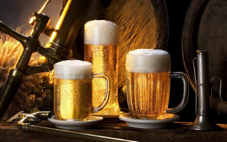 Предприниматели торгующие пивом