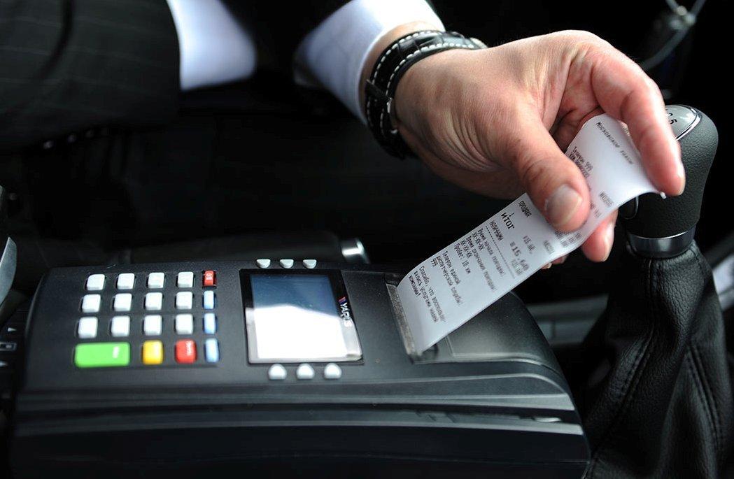 Применение онлайн кассы в такси