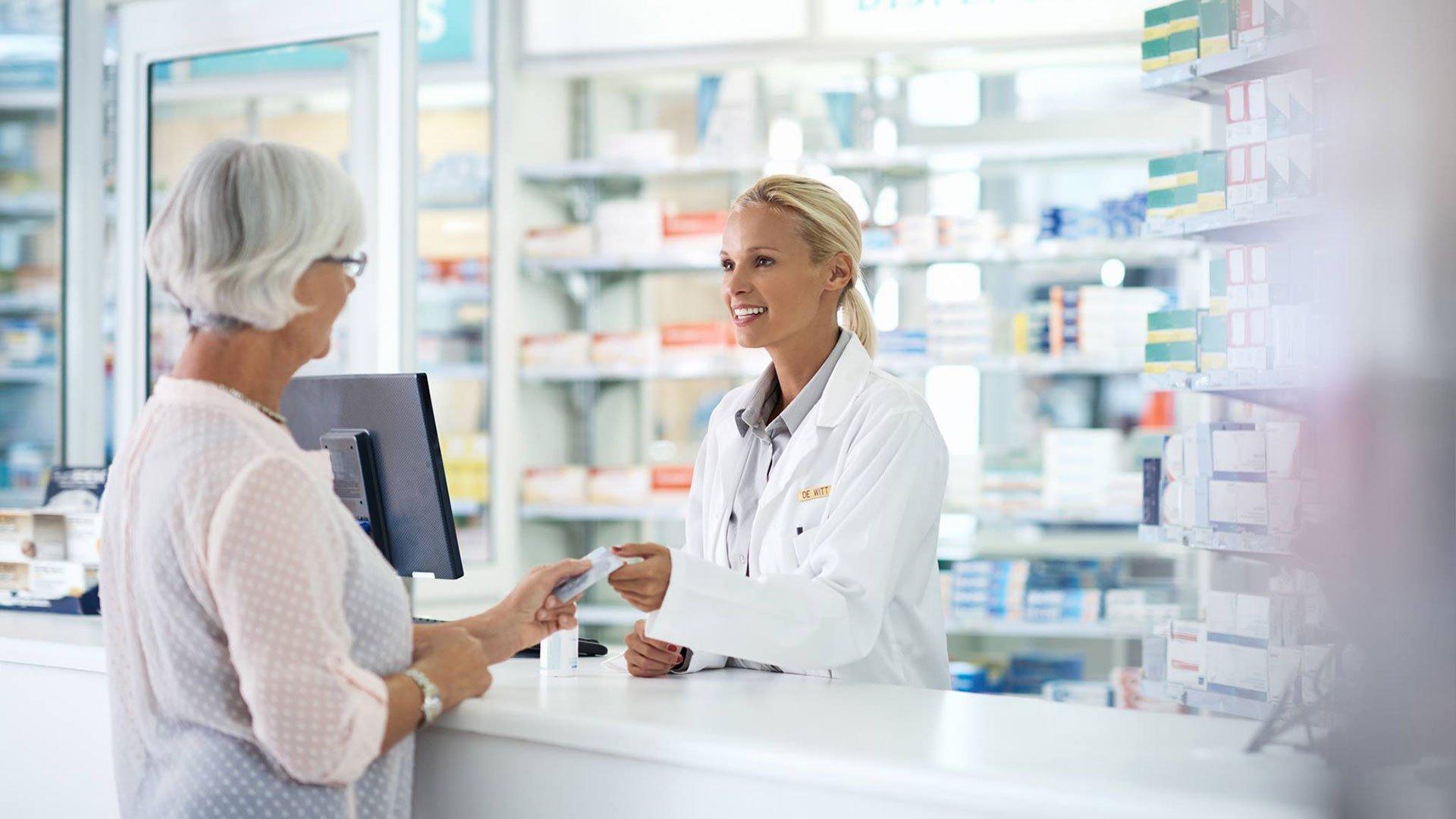 Использование онлайн кассы в аптеке