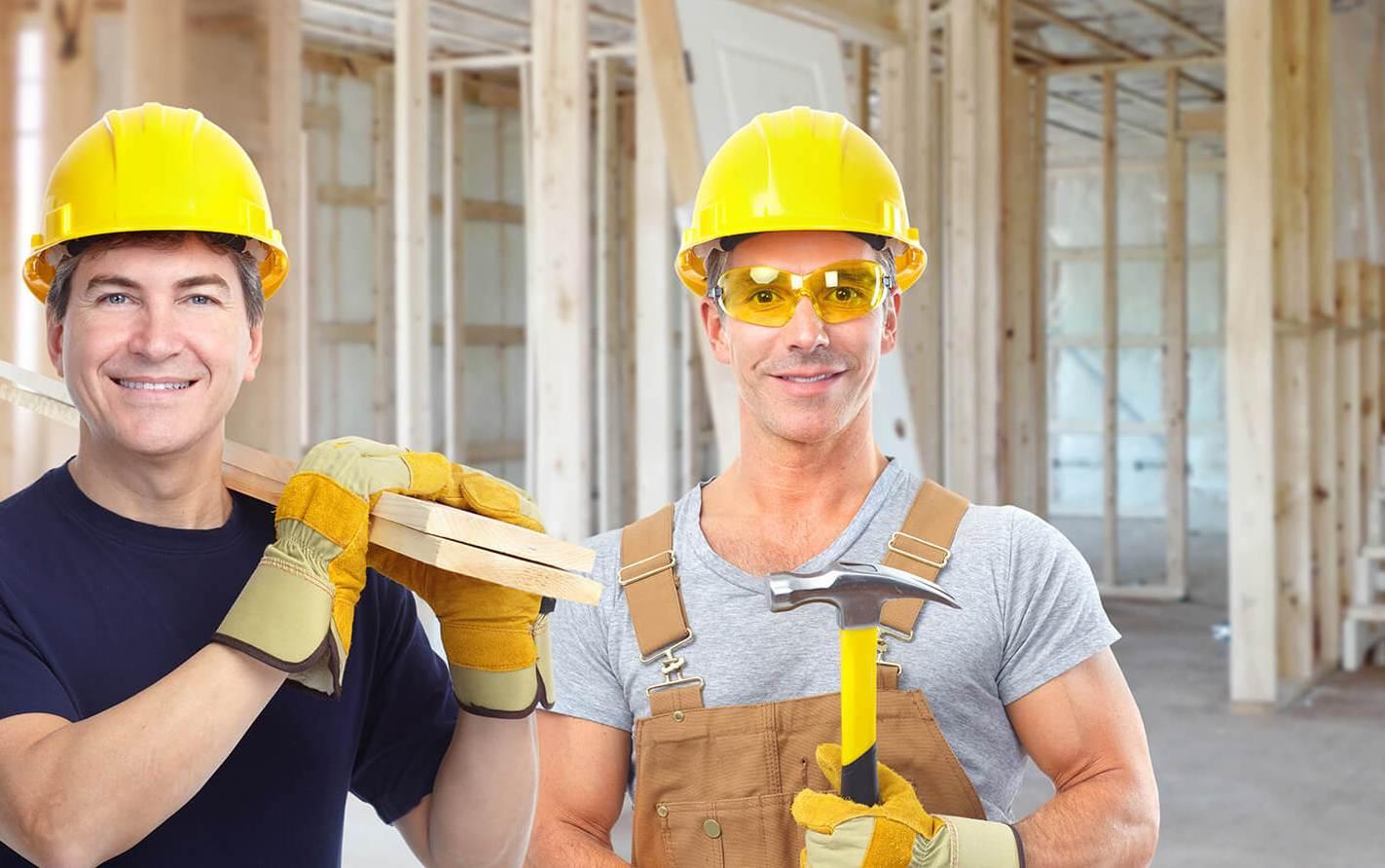 Услуги строителей и отделочников