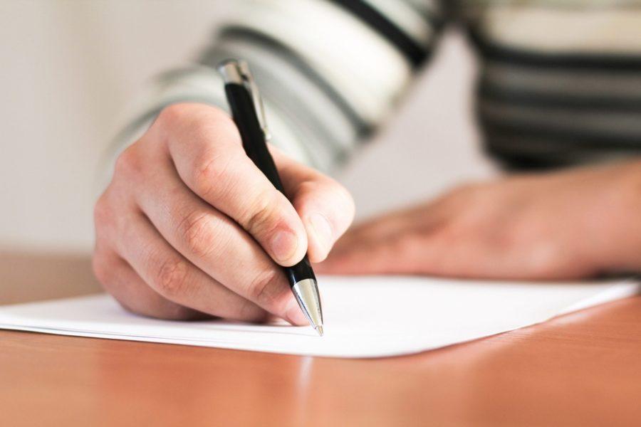 Написать заявление в налоговую