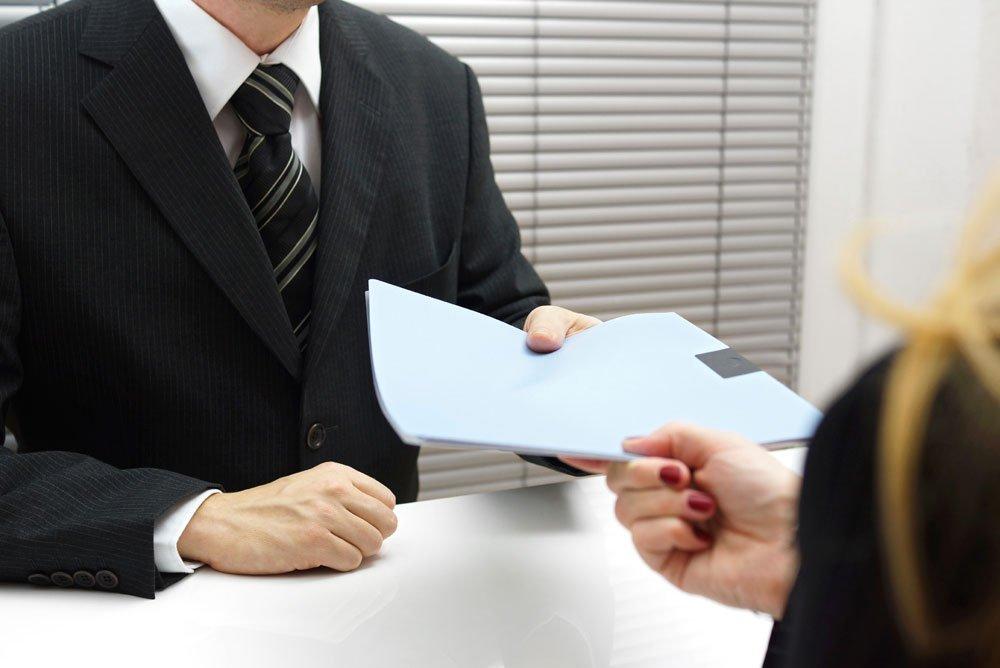Подавать бумаги в налоговую