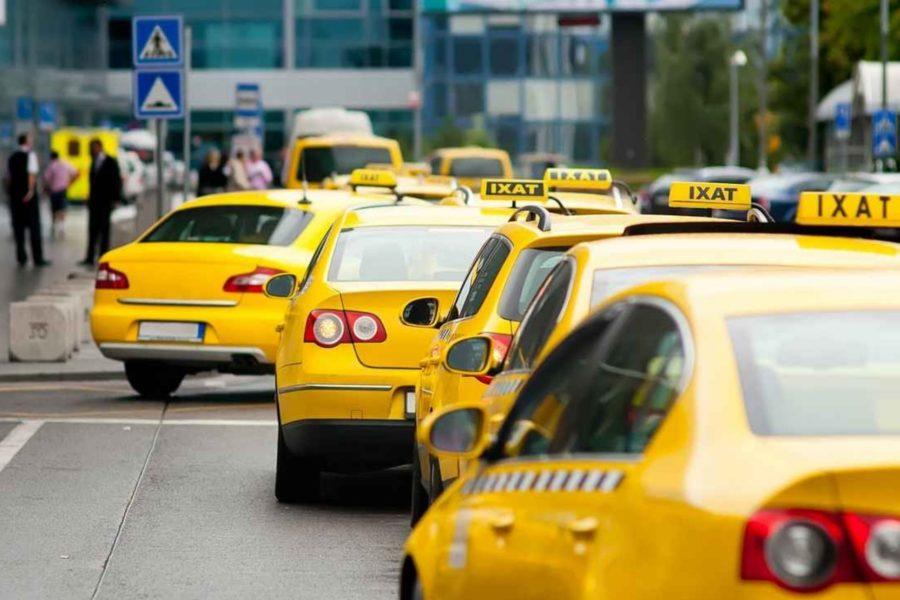 Автомобили такси на ЕНВД