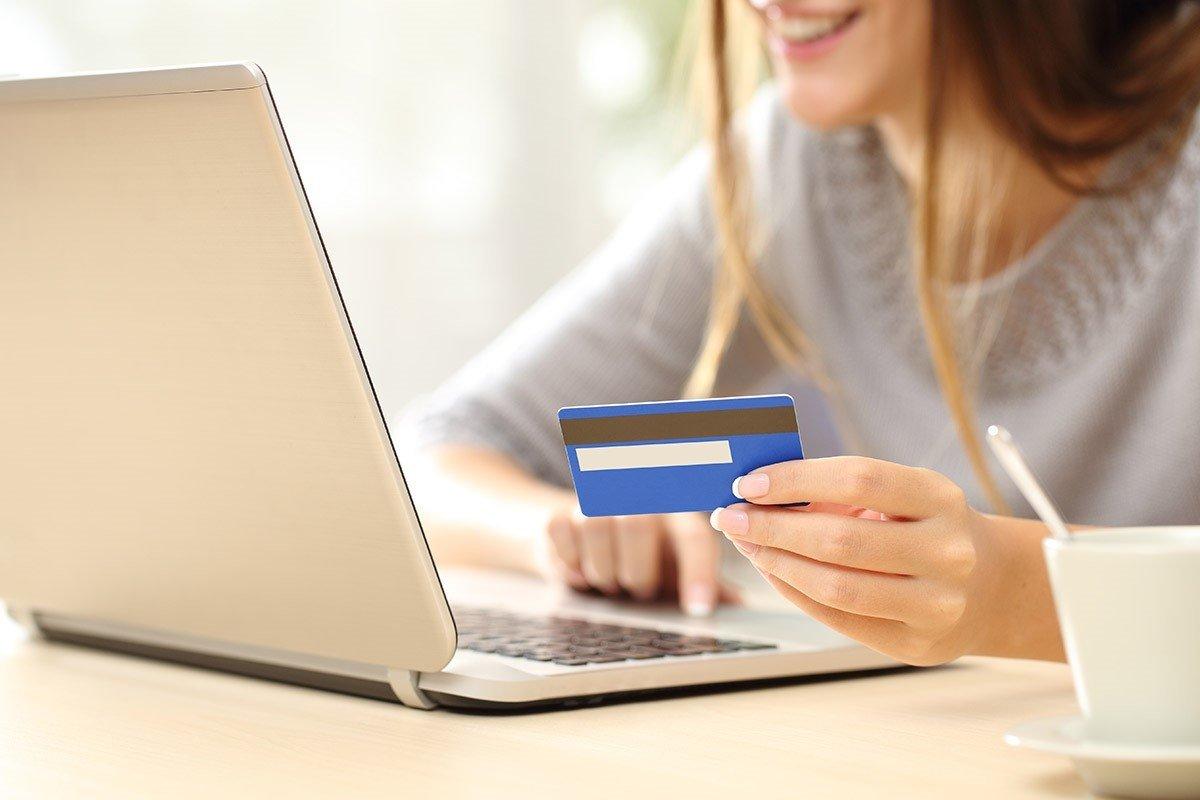 Оплатить покупку через интернет