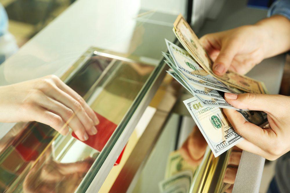 Перемещение денег в банке