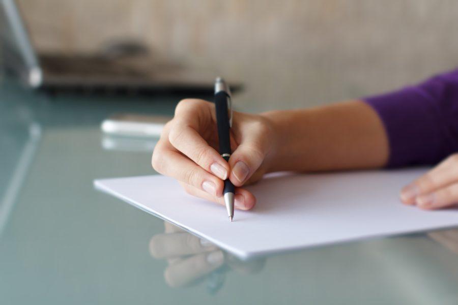 Письменное одобрение родителей